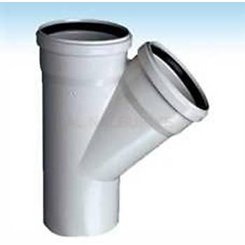 Plastherm Pvc Tek Çatal 125x125 mm
