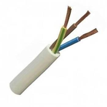 Ttr 3x1,5 Alüminyum Kablo 100 Metre