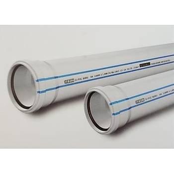 Plastherm Pvc Boru 125x2000 mm