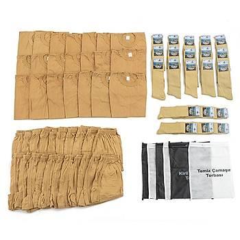 Bedelli ve Acemi Er Asker Giyim Malzemeleri Seti 21'li