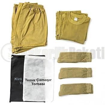 Asker Giyim Paketi  (Termal Çoraplý)