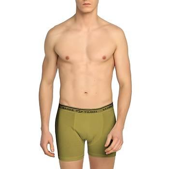 Askeri Likralý Boxer Haki Nano Yeni Tip Renk
