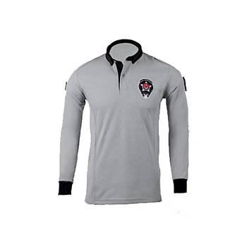 Özel Güvenlik T-shirt Uzun Kol Armalý