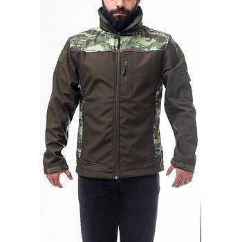 Kamuflaj Tactical Soft Shell Mont Haki