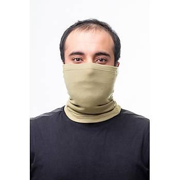 Askeri Termal Microfiber Boyunluk Kum Rengi (Buff)