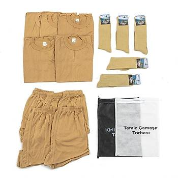 Bedelli ve Acemi Er Asker Giyim Malzemeleri Seti 5'li
