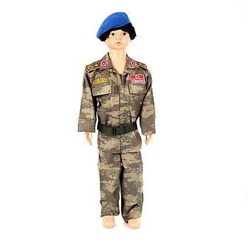 Askeri Kamuflaj Çocuk Takýmý