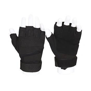 Taktikal eldiven siyah blackhawk siyah kýsa parmak