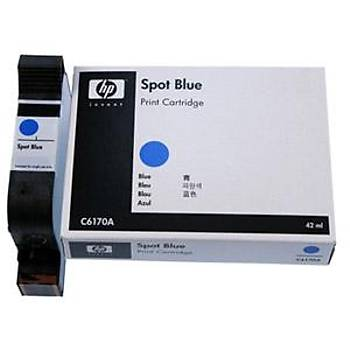 HP C6170A Spot Mavi Kartuş