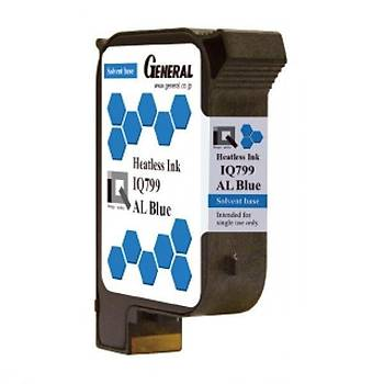 General IQ799 Heatless AL Solvent Mavi Kartuþ