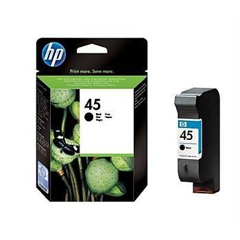 HP C51645A  Siyah Kartuþ (HP45A)