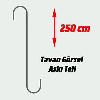 Tavan Görsel Aský Teli 250cm