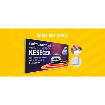 Iþýklý Bez Kasa Light Box