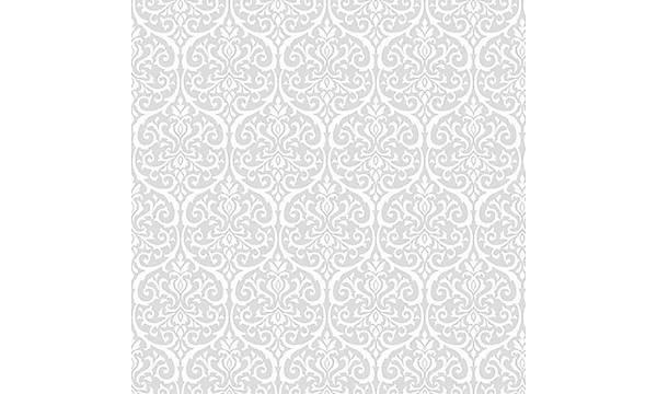 Alkor 280-8009 Damask Transparan Cam Yapýþkanlý Folyo 67,5cm x 1mt