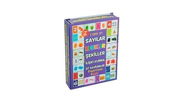 diytoy 5 Süper Set Flash Cards