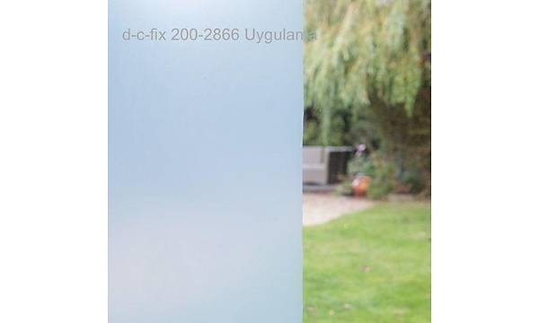 d-c-fix 200-2866 Raký Beyazý Cam Transparan Folyo Uygulama