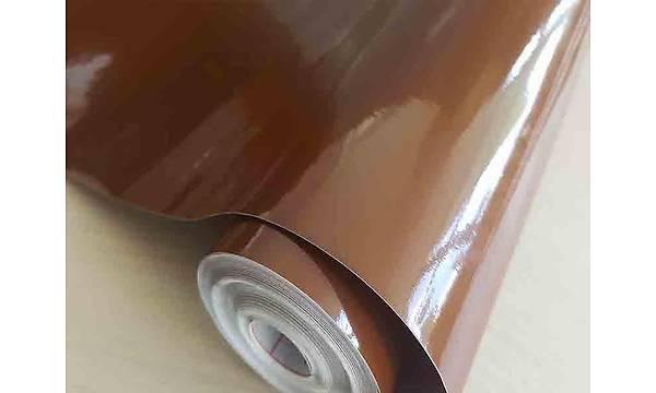 D-c-fix 200-2818 Parlak Kahverengi Yapýþkanlý Folyo 45cm x 1mt
