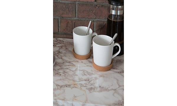 d-c-fix 200-2455 Kahve Desenli Mermer Uygulama