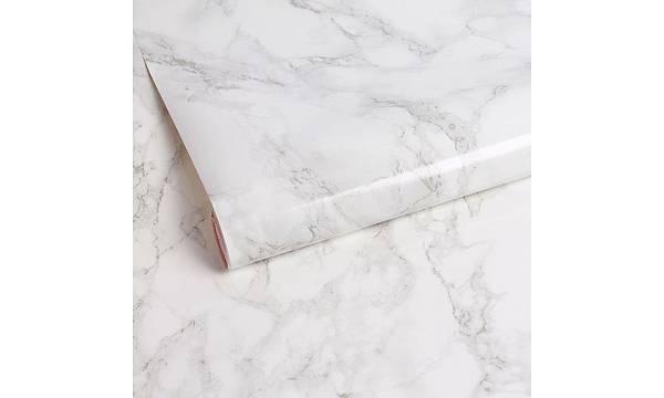 d-c-fix 200-8095 Beyaz Zemin Gri Hareli Mermer Yapýþkanlý Folyo 67,5cm x 1mt
