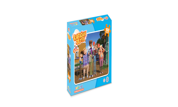 Trt Çocuk Rafadan Tayfa 100 LÜ Puzzle