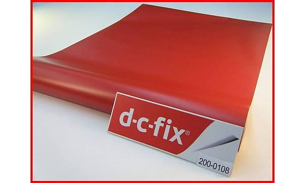 D-c-fix 200-0108 Mat Kýrmýzý Yapýþkanlý Folyo 45cm x 1mt