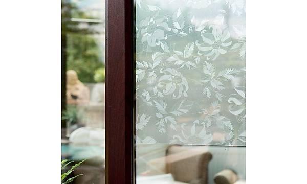 d-c-fix-346-8325 Çiçek Desenli Transparan Yapýþkanlý Cam Vitray Folyo 67,5cm x 1mt