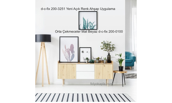 d-c-fix 200-3251 Ahþap Uygulama