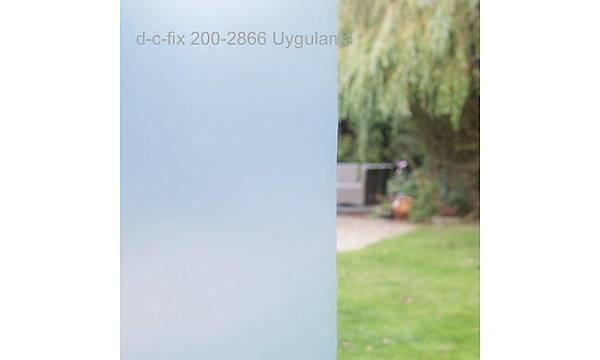 d-c-fix-200-8266 Transparan Düz Raký Beyazý Yapýþkanlý Cam Folyo 67,5cm x 1mt