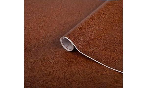d-c-fix 200-1920 Kahve Deri Desenli Yapýþkanlý Folyo 45cm x 1mt