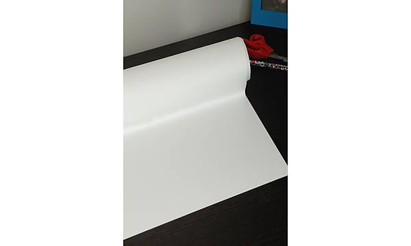 d c fix 346-8006 Mat Beyaz Yapýþkanlý Folyo 67,5cm x 1mt