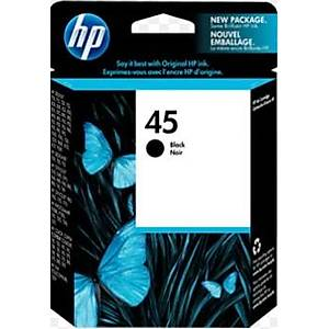 HP 45 Siyah Orijinal Mürekkep Kartuşu