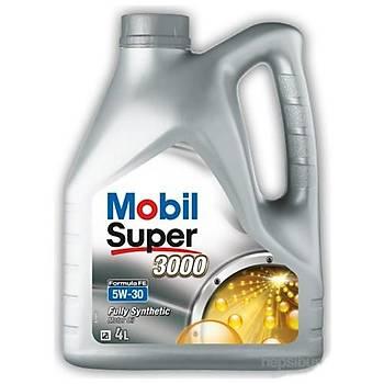 Mobil Super Fe 5W/30 Benzin ve Dizel Motor Yaðý  4 Litre