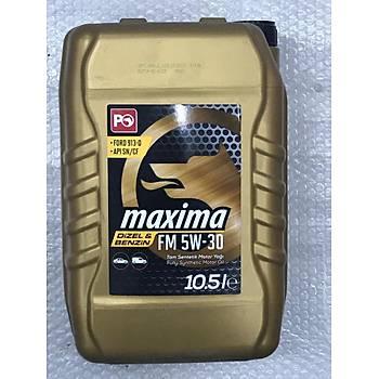 Petrol Ofisi Maxima FM 5W-30 10.5 Litre Tam Sentetik Motor Yaðý