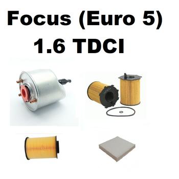 Ford Focus (Euro 5) 1.6 TDCI Bakým Seti 2011-2017