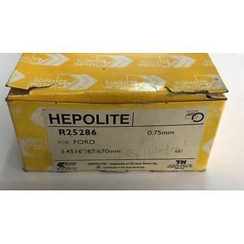 HEPOLITE R25286 FORD CAPRI III, GRANADA, TAUNUS, TAUNUS ྌ, TAUNUS ´80, TRANSIT 1.6 01.70-04.87 MOTOR SEGMANI, SEKMANI 0.75mm