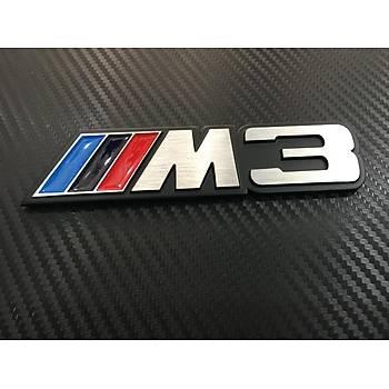BMW M3 METAL YAZI