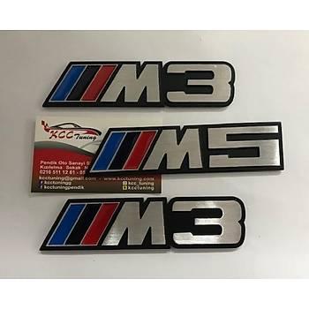 BMW M5 METAL YAZI