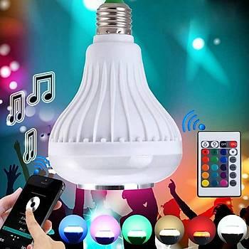 Bluetooth 3.0 Hoparlör ve Renkli LED lambasý