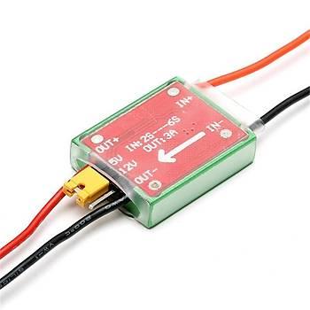 BEC 12 V 5 V FPV 1.2G/5.8G Anahtarý CNC Metal Kasa