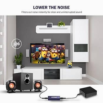 Mpow BH138 Mini Stereo Ses Filtresi Gürültü Ýzolatör 3.5mm Ses Kablolu