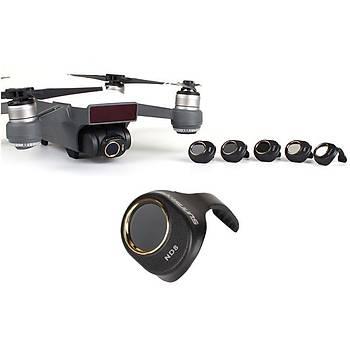 DJI Spark Gimbal Kamera HD ND8 Filtre Optik Lens