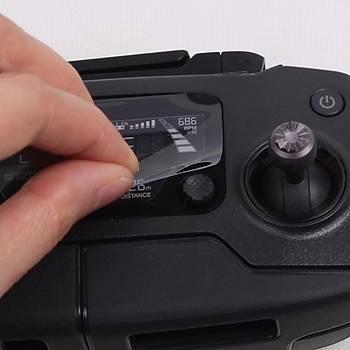 DJI Mavic 2 Pro Uzaktan Kumanda Ekran Koruyucu Film HD Pad 2 Adet Set