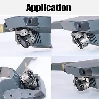 DJI Mavic Pro Alpen White Gimbal Kamera Lensi Ýçin 3 lü Filtre Set MCUV / CPL / ND32