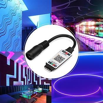 Bt Telefon Kontrol RGB 3528 5050 Þerit Led Denetleyicisi 5-24V 6A