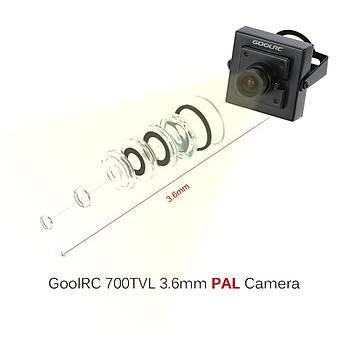 FPV Kamera Drone Multicopter Quadcopter RC Araçlar 700TVL PAL 3.6mm