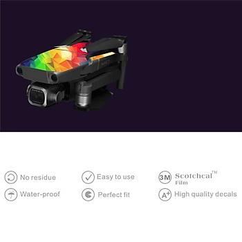 DJI Mavic 2 Pro/Zoom Su geçirmez UV Dayanýklý PVC Koruma Sticker SE