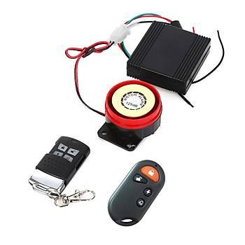 Profesyonel Motorsiklet Güvenlik Alarm Sistemi 125dB
