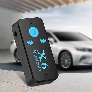Araç Kiti  Bluetooth 4.1 Aux Ses ve Müzik Alýcý Adaptörü TF Destek A2DP Mp3