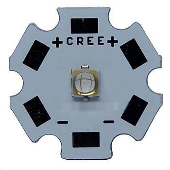 UV 5W 365nm LG 3535 Yüksek Güç Boncuk Led Diyot 20mm PBC Board