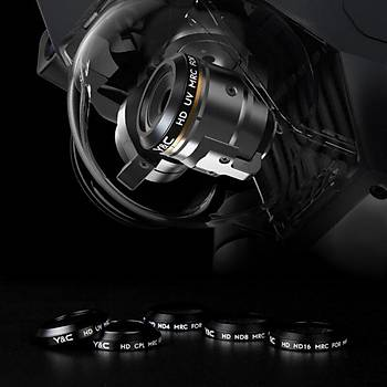 DJI Mavic Pro Kamera HD CPL Polarize Filtre MRC Lens